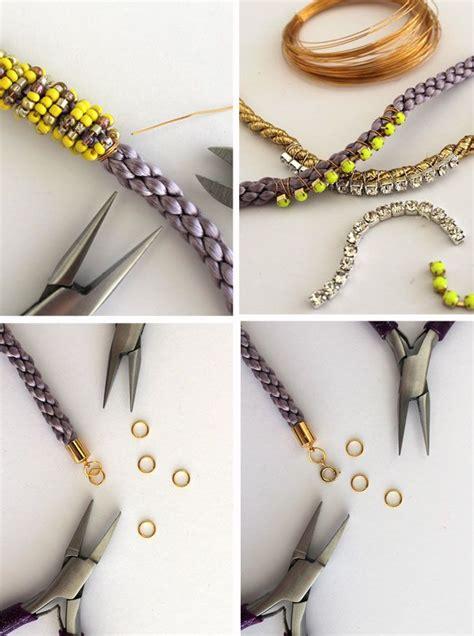 DIY Cord Bead Bracelets   HelloNatural.co