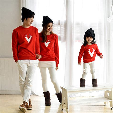 family clothes christmas family look deer mommy and me clothes matching family clothing sets mc ebay