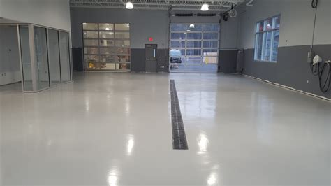 Commercial Garage Flooring Gallery   Take A Tour