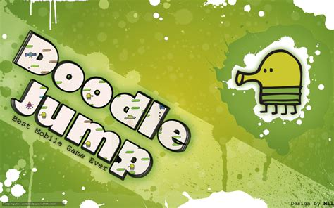 doodle jump free for computer wallpaper doodle jump green jumping free