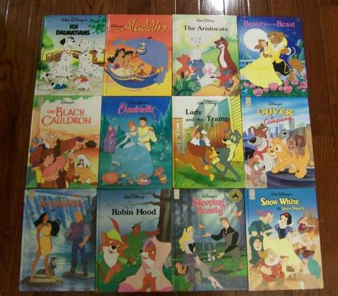 disney s classics books lot of 12 disney classic sereis hardcover mouse works