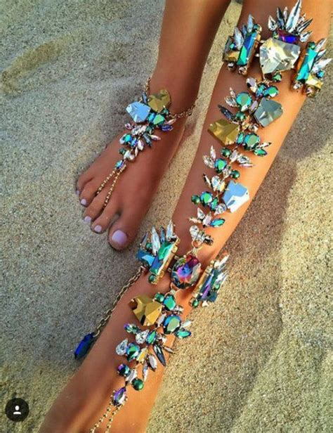 how to make leg chain jewelry 10 ideas about leg chain on chains