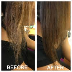 brazilianblowout hair how to brazilian blowout split end repair modern salon