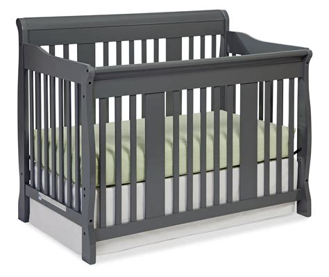 Storkcraft Tuscany 4 In 1 Convertible Crib Gray Baby Storkcraft Convertible Crib