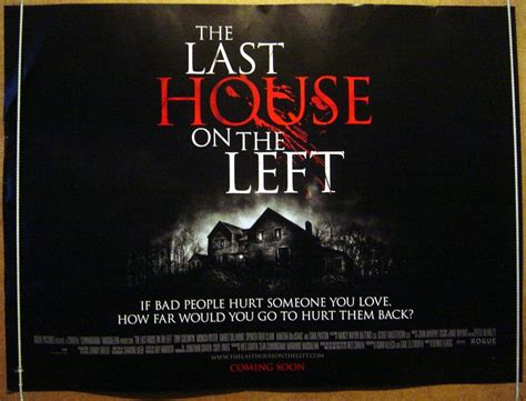 house on the left the last house on the left 2009 original quad film poster sara paxton ebay