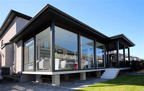 contemporary sunroom veranda  sunrooms