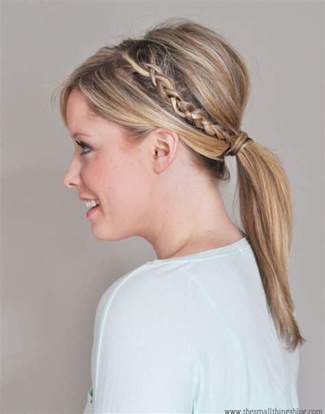 hairstyles braids ponytails top 20 braided hairstyles tutorials pretty designs