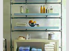 Floating Bathroom Shelf Made with Kee Klamp and Lack ... Ikea Floating Shelves Kitchen