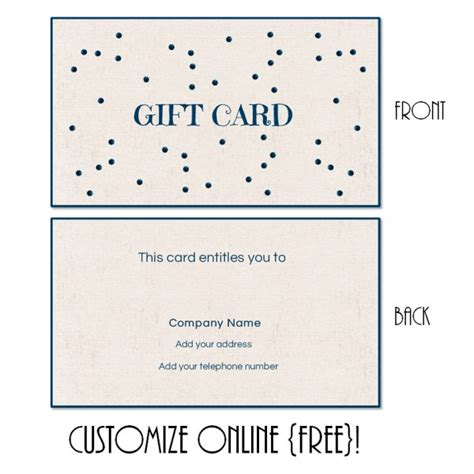 free templates for birthday gift card holders gift card template