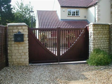 swing gates designs wooden swing gates photo gallery from agd systems gates