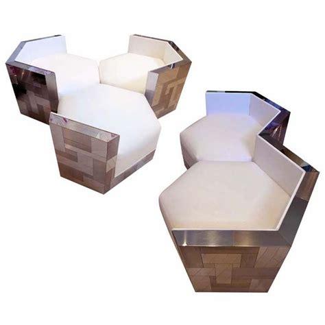 hexagonal sofa 7 best images about sofa on pinterest velvet couch