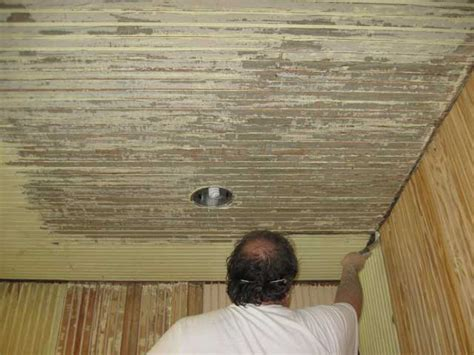 How To Paint Over Wood Paneling Ohw View Topic Refinishing Porch Beadboard Ceiling