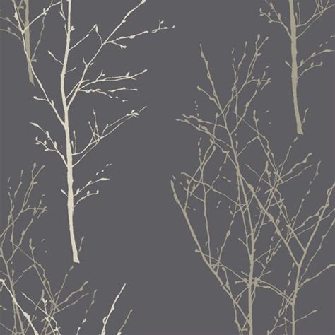 grey wallpaper john lewis birch wallpaper in steel from john lewis statement