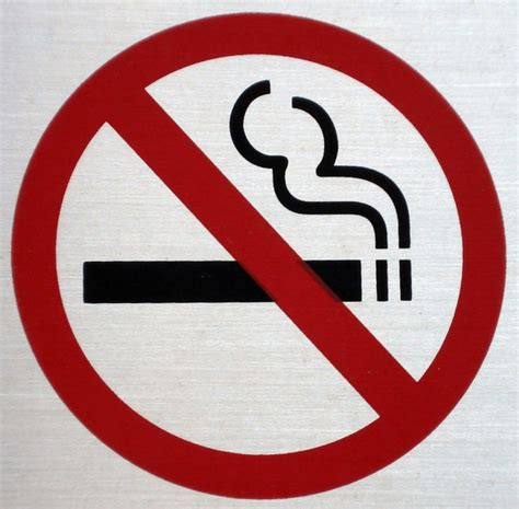 no smoking sign without cigarette anti smoking signs may cause people to reach for cigarettes