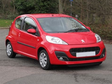 red peugeot for sale used peugeot 107 2013 petrol laser red edition for sale in