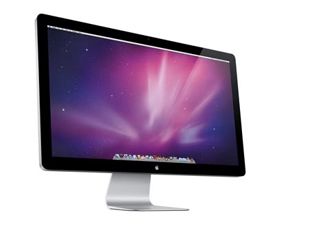 apple monitor apple reveals 27 inch led cinema display