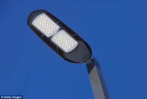 are led street lights damaging your health doctors warn