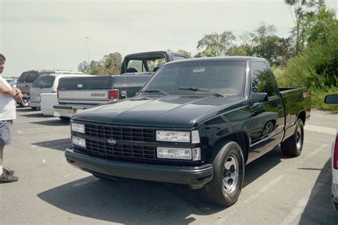 outside truck shows 454ss 454 ss 454ss black chevy outside