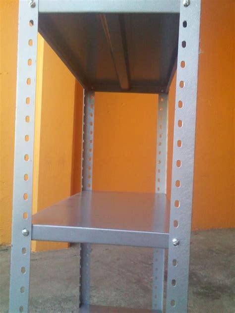 estante y anaquel anaquel estante metalico postes y entrepa 241 os 49 90 en
