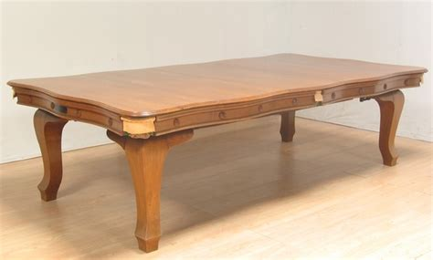 antique billiards snooker combination dining table