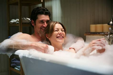 bathroom y movie dr derek shepherd and dr meredith grey best tv couples