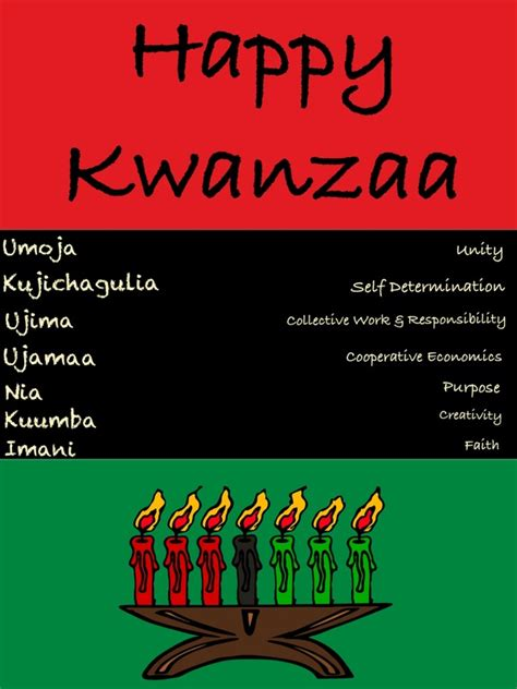 printable kwanzaa cards epic kwanzaa greeting illustration in three african color