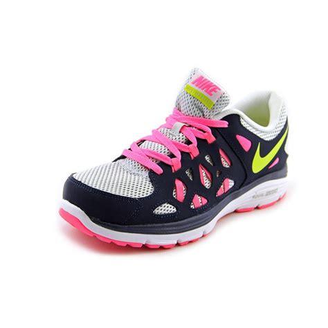 running shoes size 6 nike dual fusion run 2 youth size 6 blue mesh