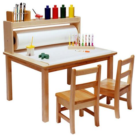 Arts And Crafts Table Modern Tables And Chairs