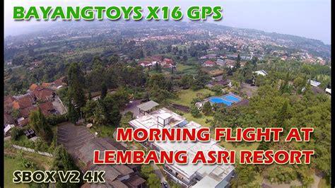 Sbox 4k bayangtoys x16 gps sbox v2 4k morning flight lembang