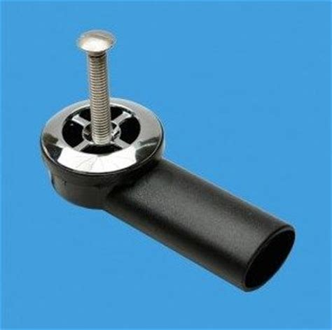 mcalpine overflow elbow for thick kitchen sinks 74001014