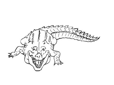 106 Dessins De Coloriage Crocodile 224 Imprimer Sur Dessin Dessin De Alligator A Imprimer Et Colorier L