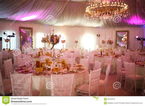Decorate Pictures | interior of a luxury white wedding tent decoration ready