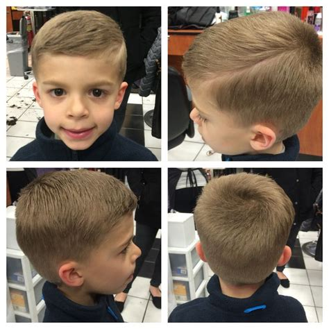 little boys shaggy sherwin haircuts little boys hard part haircut for the monster
