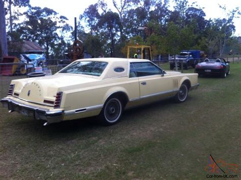 2 Door Lincoln by 1979 Lincoln Continental 2 Door Coupe V8 Luxury