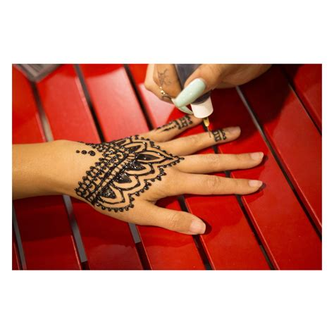 earth henna jagua black temporary tattoo kit earth jagua premium all black temporary kit