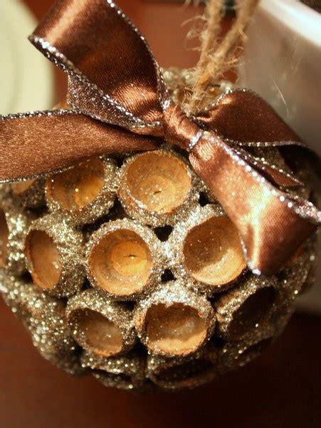 acorn ornaments acorn cap ornament acorns