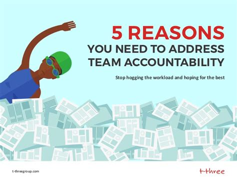 5 reasons you need to address team accountability