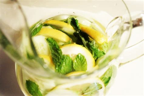 Lemon Mint Cucumber Detox Water Recipe by Lemon Cucumber Mint Water Recipe Joan Cornell