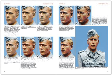 Painting 1 35 Faces by Wwii Special Vol 2 By Jin Mr Black Publications