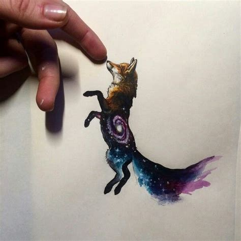 watercolor tattoo fox best 25 geometric watercolor ideas on
