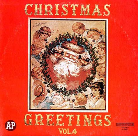 back number christmas song full 5 volume set a p christmas greetings christmas vinyl