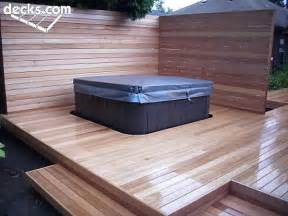 deck it out hot tub and spa decks hottubworks spa