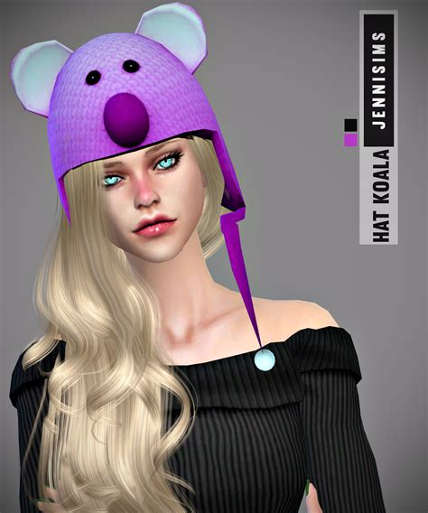 jennisims downloads sims 4 sets of accessory juice box jennisims downloads sims 4 set accessory hat koala
