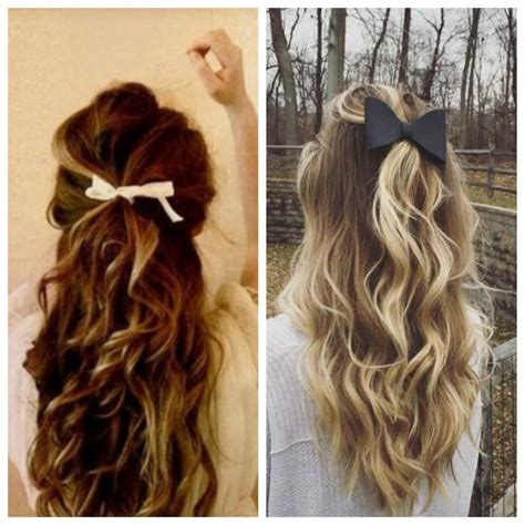 Wedding Hairstyles Ribbon by Simple And Easy Half Up Hairstyles For Weddings Hair