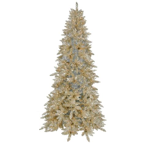 pre lit colored trees vickerman 15429 12 x 70 quot chagne spruce 1 600