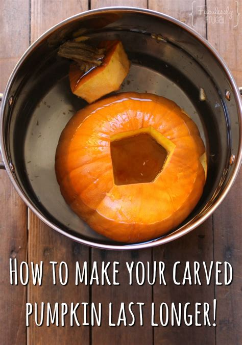 how to preserve pumpkins for how to preserve your carved pumpkin with household items
