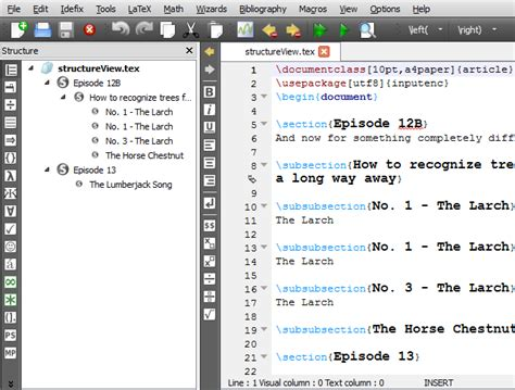 texstudio a latex editor download sourceforge net