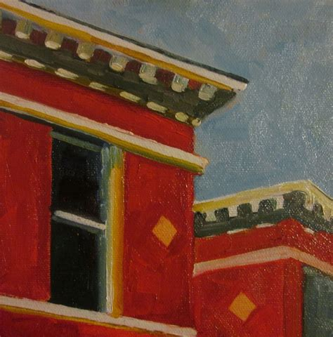 Painting For Home Interior by Just Painting Edward Hopper Rooftops