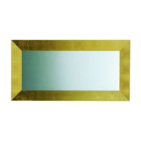 Gold Bathroom Mirrors Acquaviva 9sp65960 Essenze 8 55 In Gold Frame Mirror Atg Stores