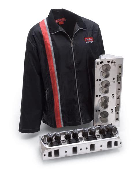 werkstatt jacke edelbrock offers free shop jacket with cylinder